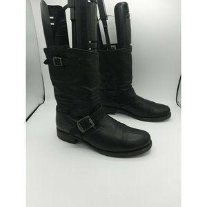 FRYE 'Veronica Short' Slouchy Boots Black